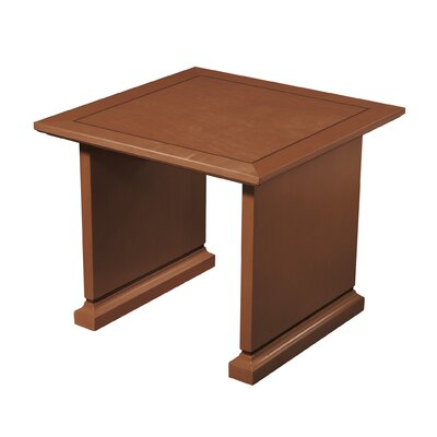 Mendocino End Table Color: Satin Cherry