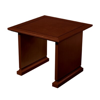 Mendocino End Table Color: Mahogany