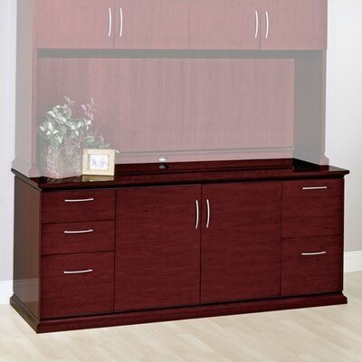Mendocino 2 Door Credenza Finish: Mahogany Product Image 7268