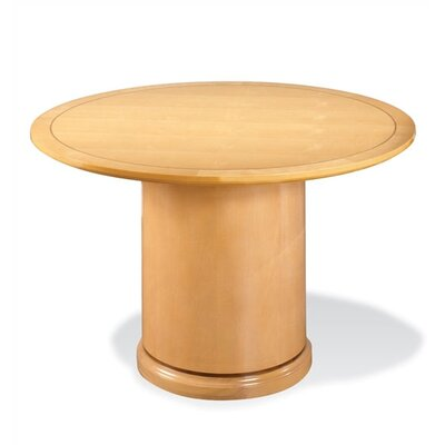 Mendocino 4 Circular Conference Table Finish: Maple