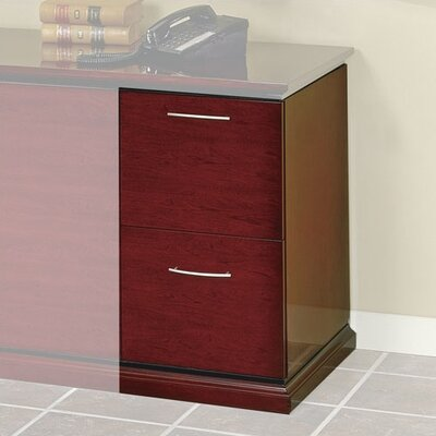 Mendocino 28 H x 20 W File Pedestal Finish: Mahogany Product Image 1740