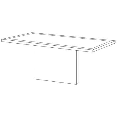 Special Training Table Modesty Panel Product Photo
