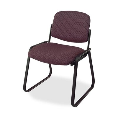 Deluxe Sled Base Chair Seat Color: Cabernet