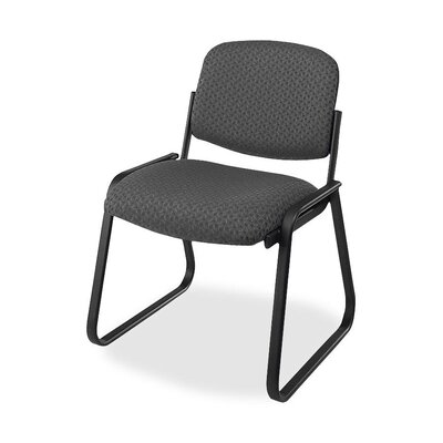 Deluxe Sled Base Chair Seat Color: Onyx