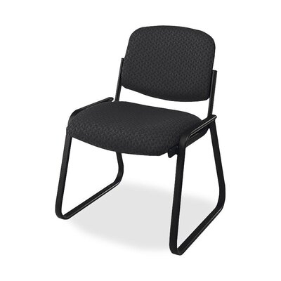 Deluxe Sled Base Chair Seat Color: Black