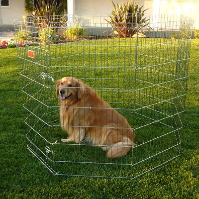 Kennel Dog Pen Size: X-Small (192 W x 24 D)