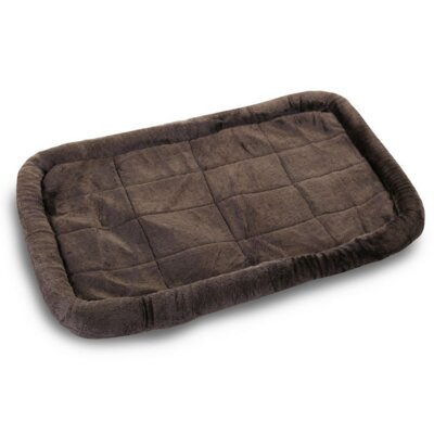 Cotton Crate Donut Dog Bed Color: Charcoal, Size: Intermediate (36 L x 23 W)