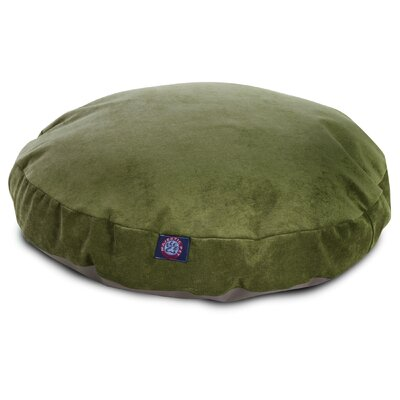 Villa Round Pet Bed Size: Small - 30 L x 30 W, Color: Fern
