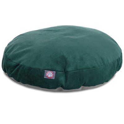 Villa Round Pet Bed Size: Small - 30 L x 30 W, Color: Marine