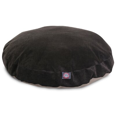 Villa Round Pet Bed Size: Small - 30 L x 30 W, Color: Storm