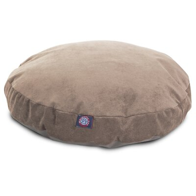 Villa Round Pet Bed Size: Small - 30 L x 30 W, Color: Pearl