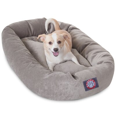 Bagel Dog Bed Size: 32 D x 23 W, Color: Vintage