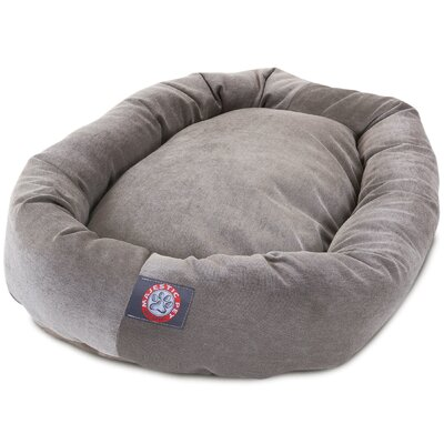 Bagel Dog Bed Size: 40 D x 29 W, Color: Vintage