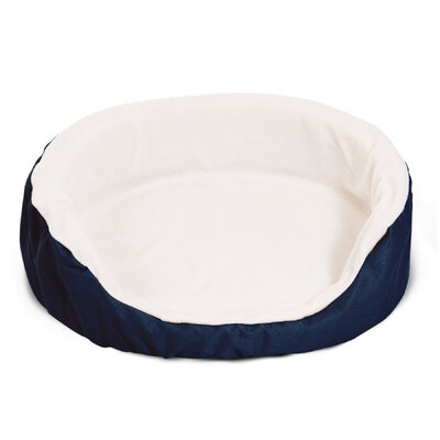 Lounger Orthopedic Nest Pillow Dog Bed Color: Blue, Size: Extra Large (43 L x 28 W)