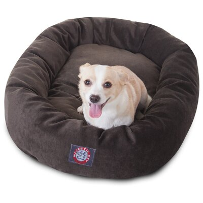 Bagel Dog Bed Size: 32 D x 23 W, Color: Storm