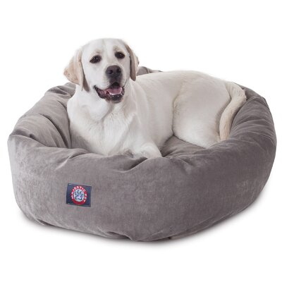 Bagel Dog Bed Size: 52 D x 35 W, Color: Azura
