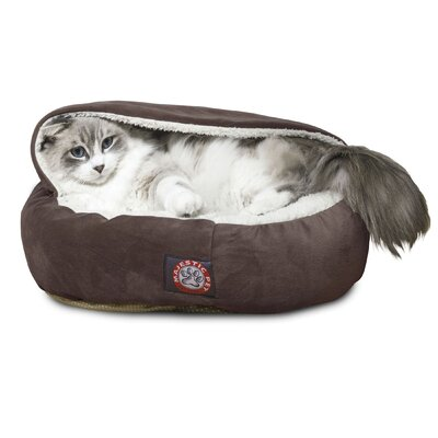 Hannah Pet Bed Color: Chocolate