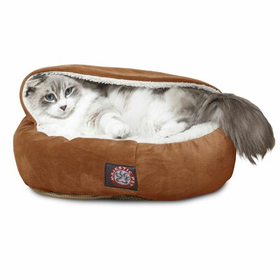 Hannah Pet Bed Color: Rust