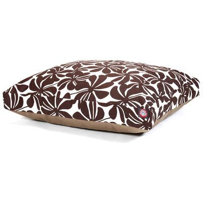 Cabana Indoor/Outdoor Pet Bed Size: Small (36 L x 29 W), Color: Chocolate