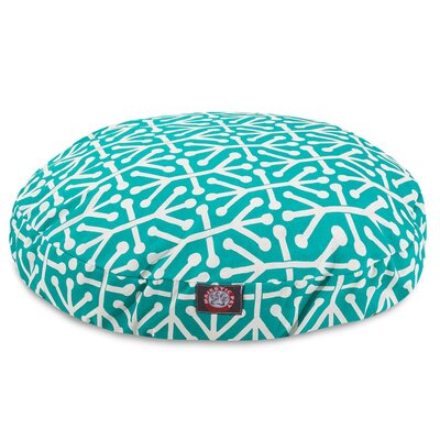 Aruba Pillow Dog Bed Size: Small (30 W x 30 D), Color: Pacific