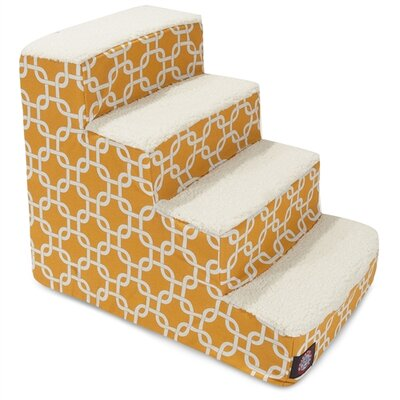 Links 4 Step Pet Stair Color: Yellow