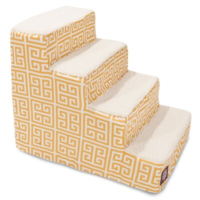 Towers 4 Step Pet Stair Color: Citrus