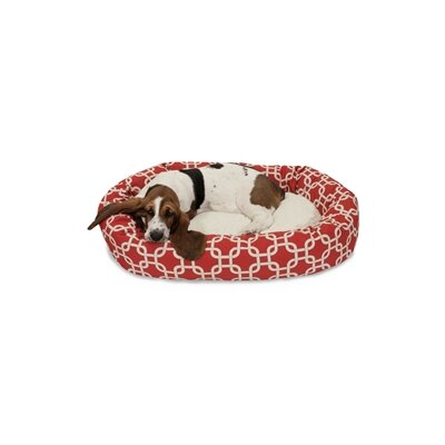Majestic Pet Links Sherpa Bagel Dog Bed - Size: Medium (32
