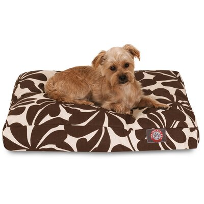 Cabana Indoor/Outdoor Pet Bed Color: Chocolate, Size: Extra Small (20 L x 27 W)