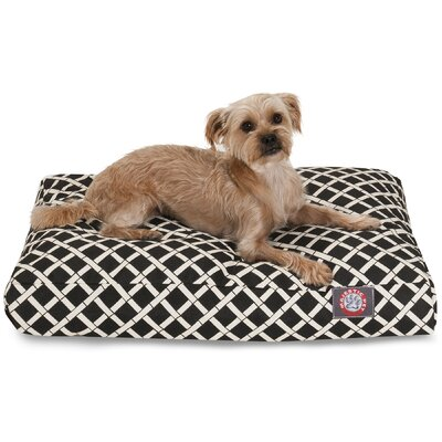 Sage Pet Bed Color: Black, Size: Extra Small (20 W x 27 D)