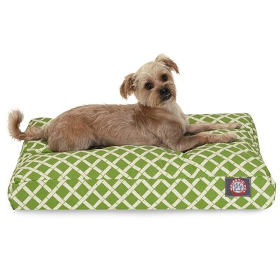 Sage Pet Bed Color: Sage, Size: Extra Small (20 W x 27 D)