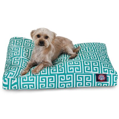 Angela Pet Bed Size: Extra Small (20 W x 27 D), Color: Pacific
