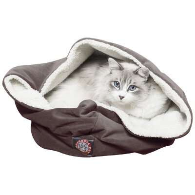 Duncan Pet Bed Color: Chocolate