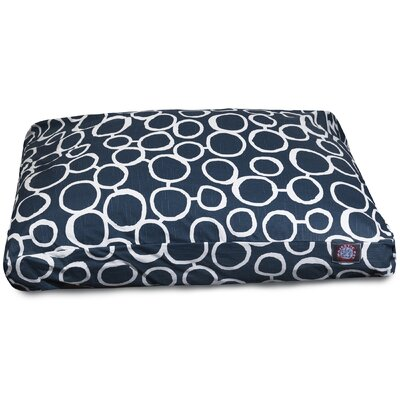 Fusion Rectangle Pet Bed with Waterproof Denier Base Size: Small (27 L x 20 W)
