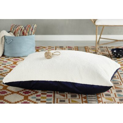 Rory Pillow Pet Bed Color: Blue, Size: X-Large (60 H x 42 W)