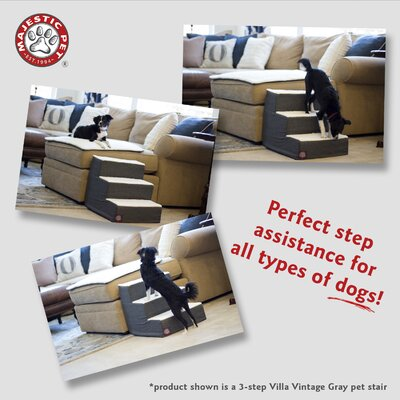 Towers 4 Step Pet Stair 78899567541