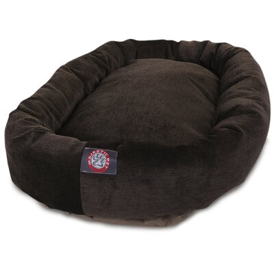 Bagel Dog Bed Size: 40 D x 29 W, Color: Storm