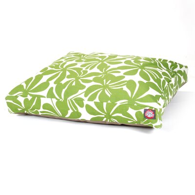 Cabana Indoor/Outdoor Pet Bed Size: Small (36 L x 29 W), Color: Sage