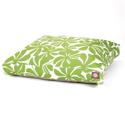Cabana Indoor/Outdoor Pet Bed Size: Medium (44 L x 36 W), Color: Sage
