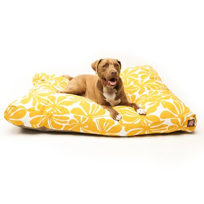 Cabana Indoor/Outdoor Pet Bed Size: Large (50 L x 42 W), Color: Yellow