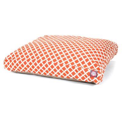 Sage Pet Bed Size: Small (36 W x 29 D), Color: Burnt Orange