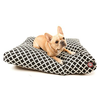 Sage Pet Bed Size: Small (36 W x 29 D), Color: Black