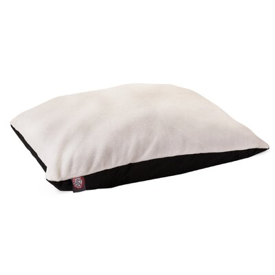 Rory Pillow Pet Bed Size: X-Large (60 H x 42 W), Color: Black