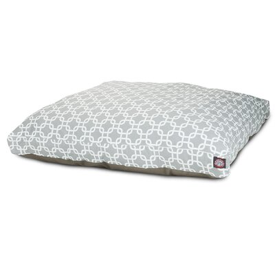 Links Pillow Pet Bed Size: Small  (36 L x 29 W), Color: Gray