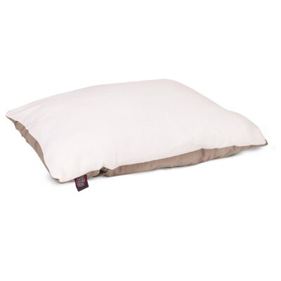 Rory Pillow Pet Bed Size: Medium (26 H x 35 W), Color: Khaki