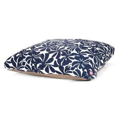 Cabana Indoor/Outdoor Pet Bed Size: Large (50 L x 42 W), Color: Navy Blue