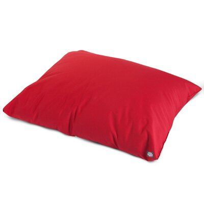 Super Value Pillow Pet Color: Red, Size: Medium (35 L x 28 W)