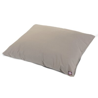 Super Value Pillow Pet Color: Khaki, Size: Large (46 L x 35 W)