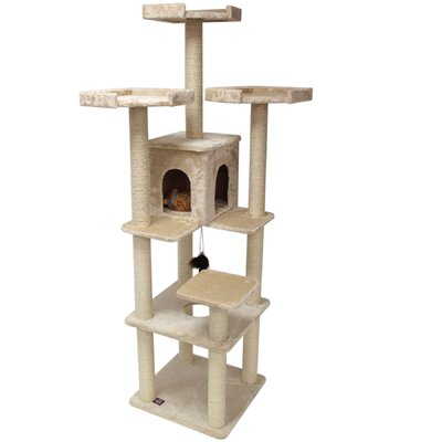 80 H Casita Fur Cat Tree