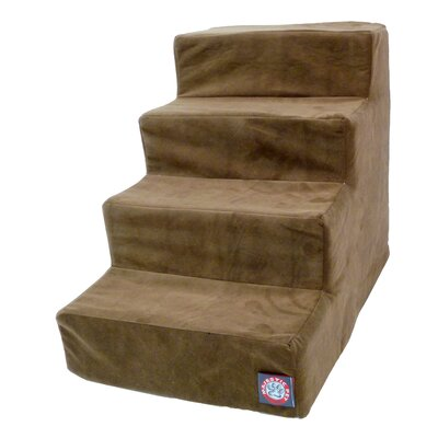 4 Step Pet Stair Color: Chocolate