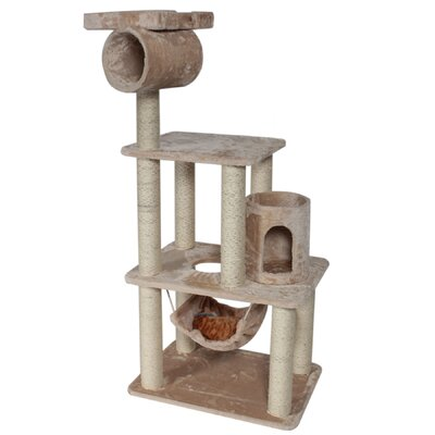 62 H Casita Fur Cat Tree